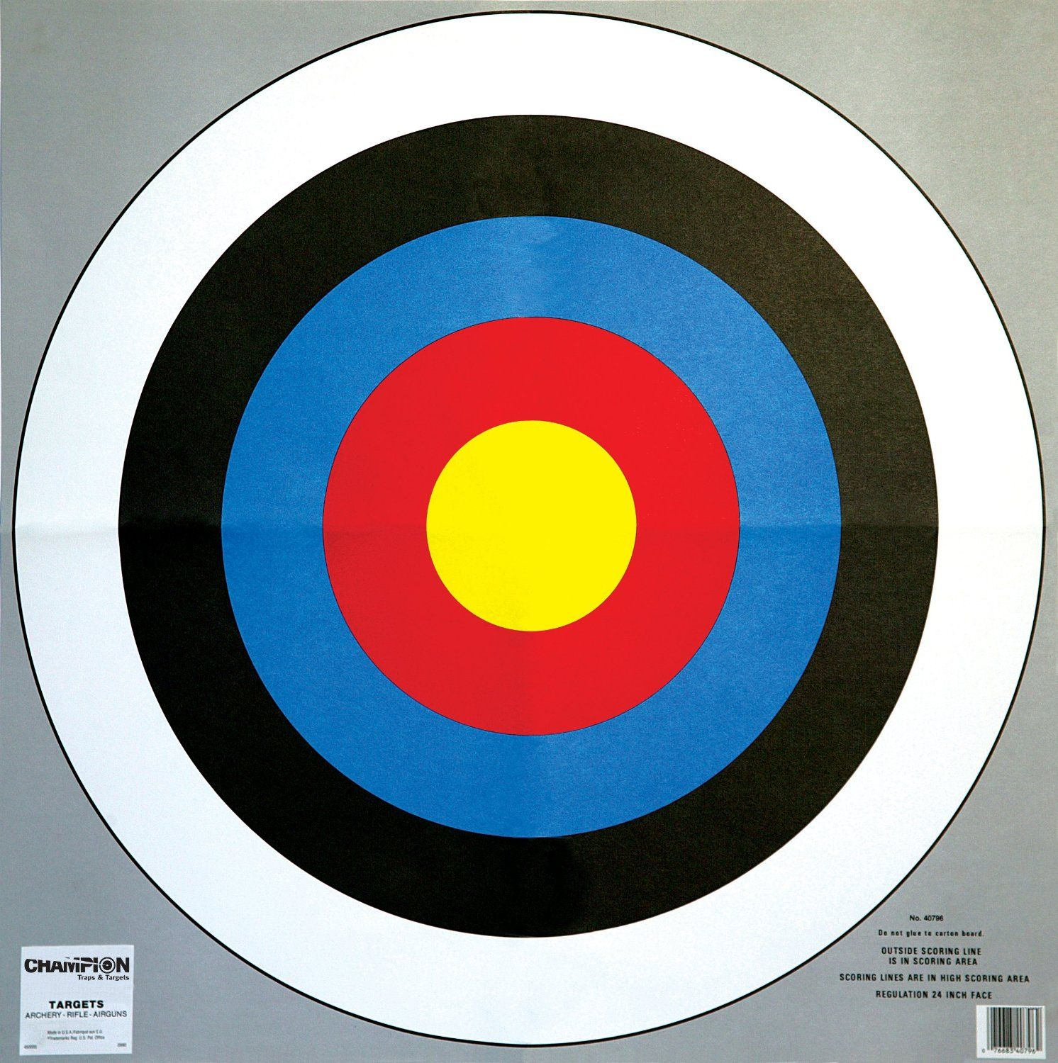 Persnickety image regarding printable archery targets
