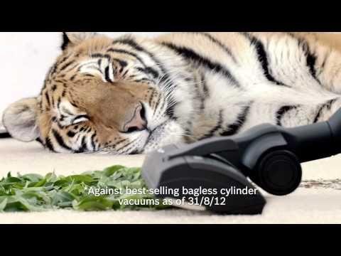 The New Tiger Advert From Bosch The Power Silence Vacuum Sleeping Tiger Guerilla Marketing Bosch