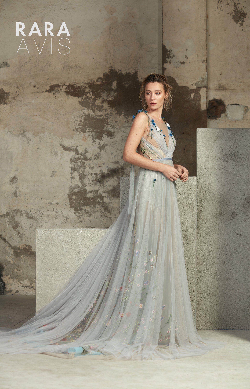 A-line wedding dress LOFGREIN with long