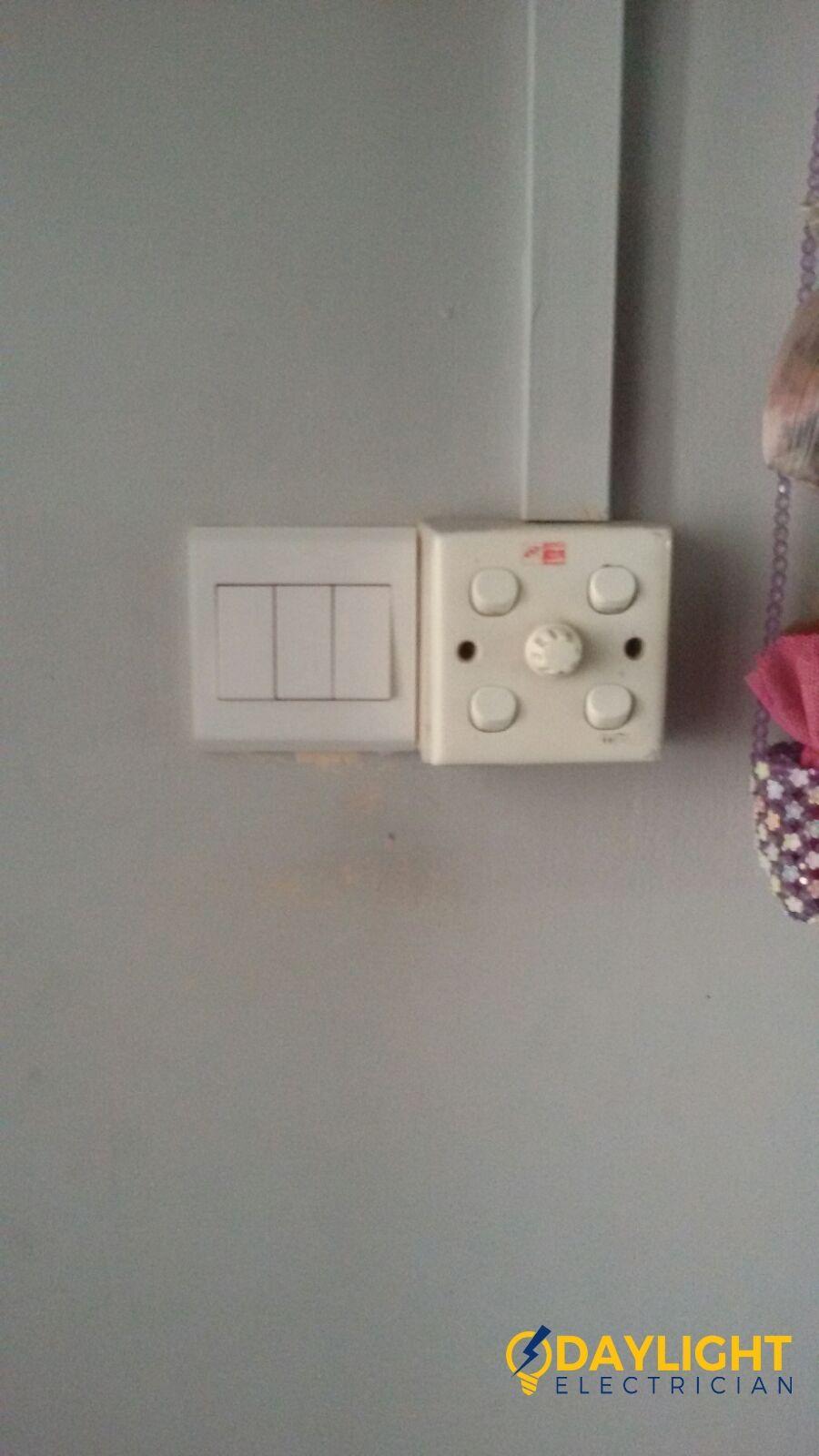 Replace Light Switch Electrician Singapore Bedok HDB | Replacing ...
