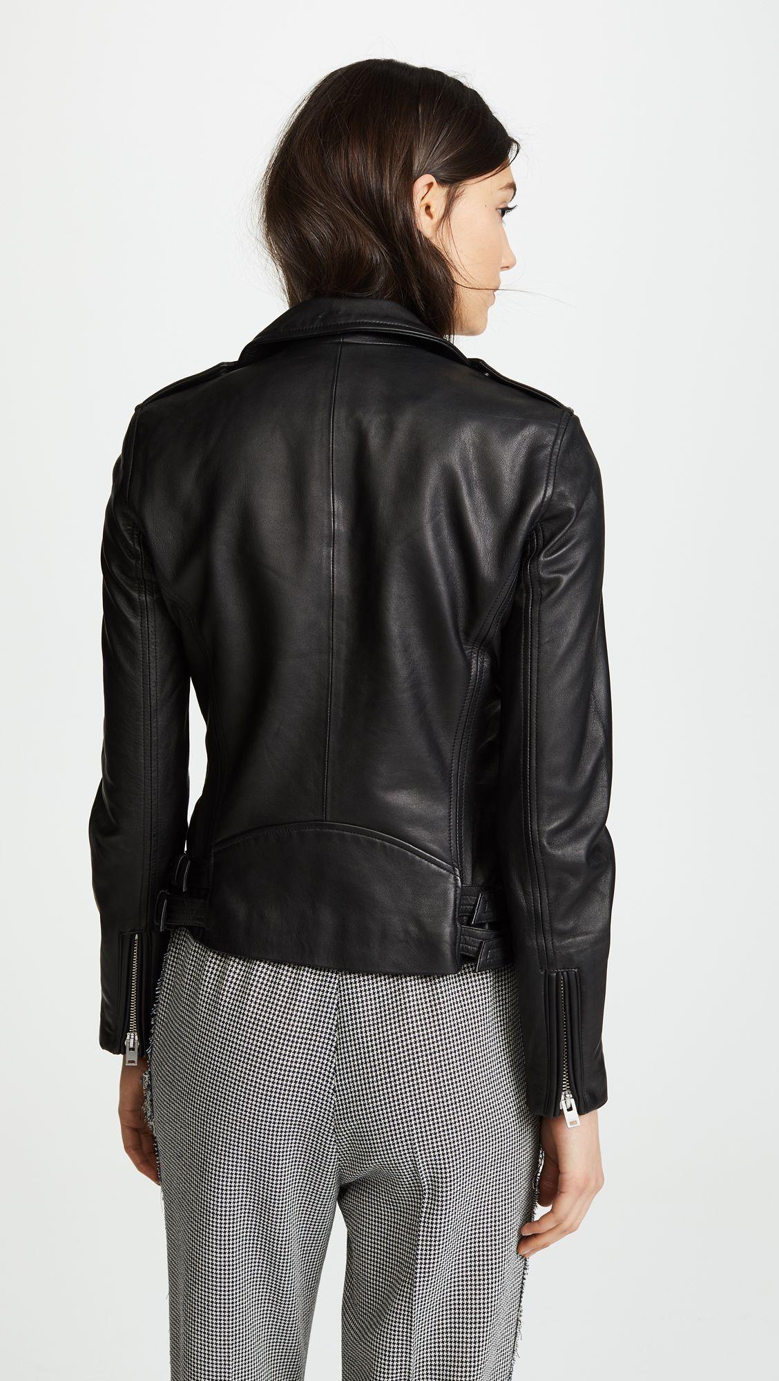Iro Han Leather Jacket Shopbop Leather Jacket Jackets Leather Jackets Women [ 2000 x 1128 Pixel ]