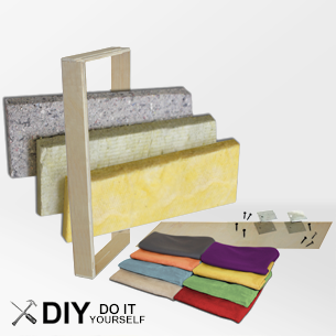 Diy acoustic panel kits from acoustimac each do it youself kit diy acoustic panel kits to make your own sound panels for less comes with rigid fiberglass frame and acoustic fabric solutioingenieria Image collections