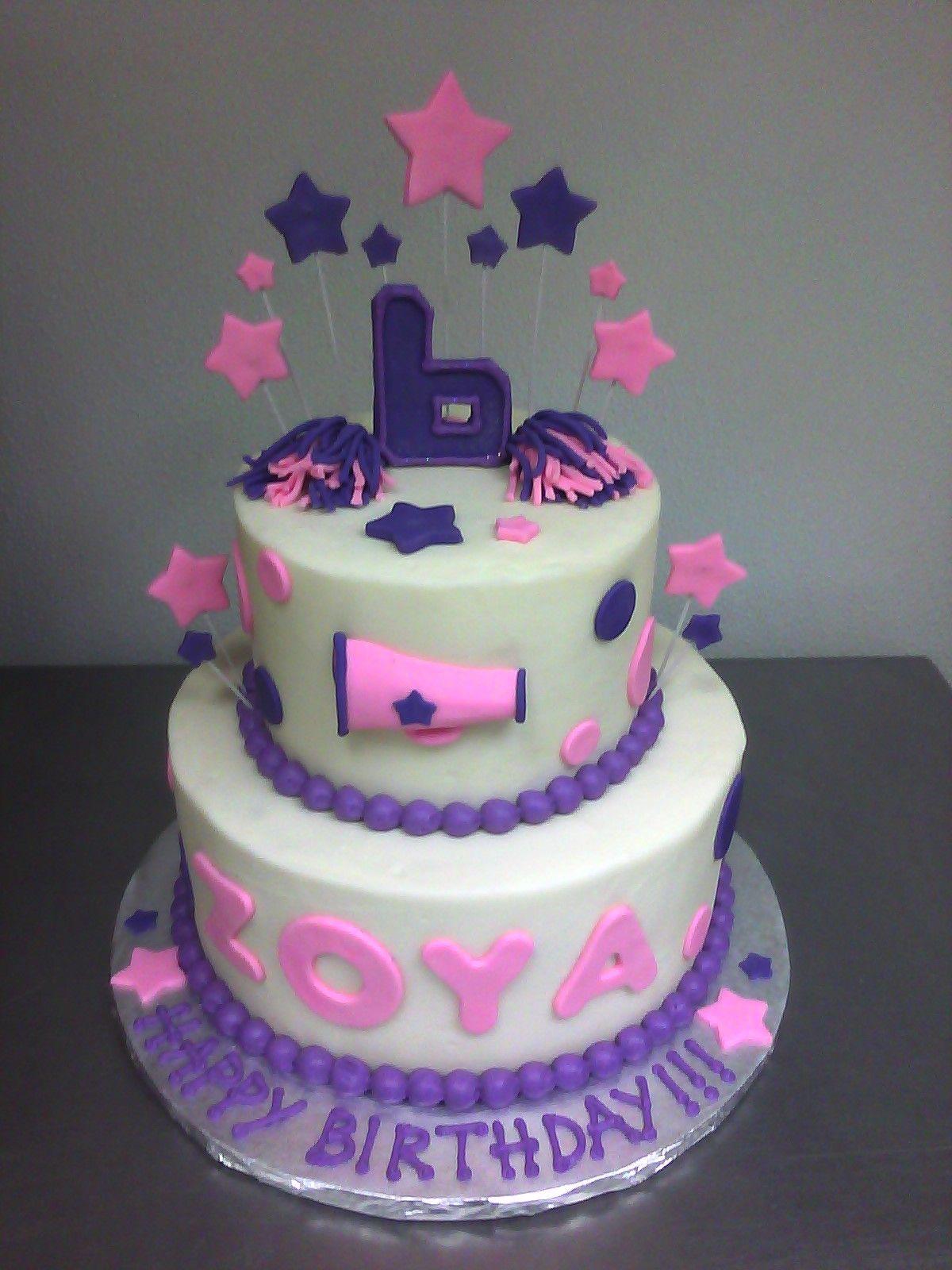 Cheerleading Birthday Cake Cake Stuff Pinterest Cake Birthday