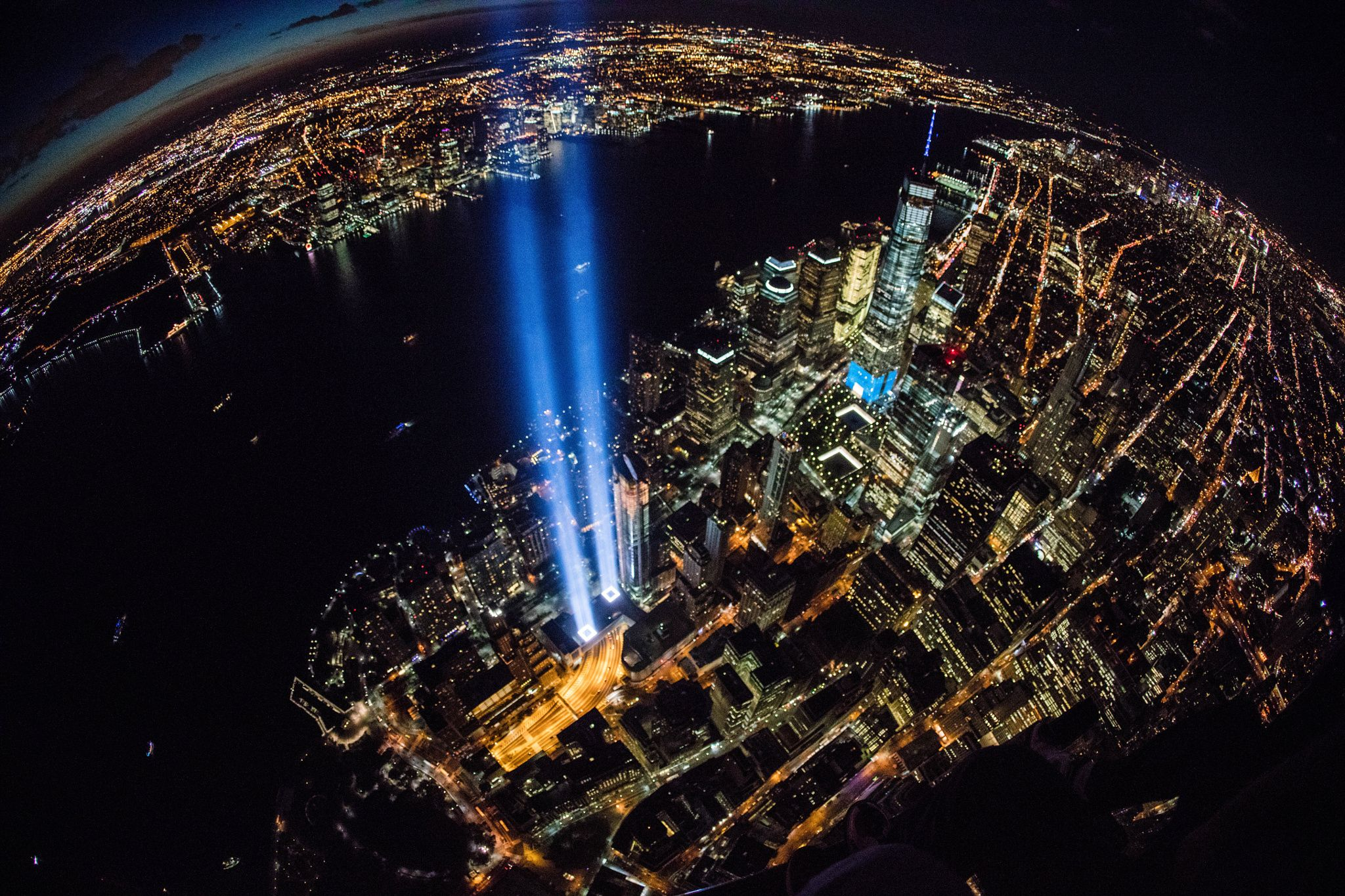New York City's September 11th Tribute in Light by Anthony Quintano on 500px