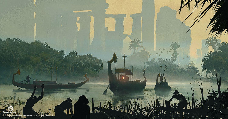 Assassin S Creed Origins Martin Deschambault On Artstation At