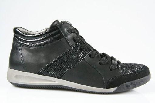 b5f5978211e5 Dámska šnurovacia obuv zateplená