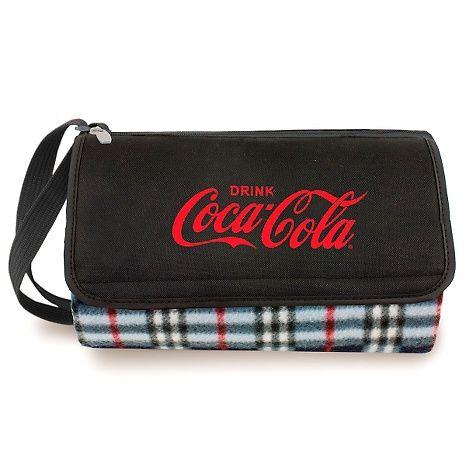 Coca-Cola Picnic Time Blanket Tote