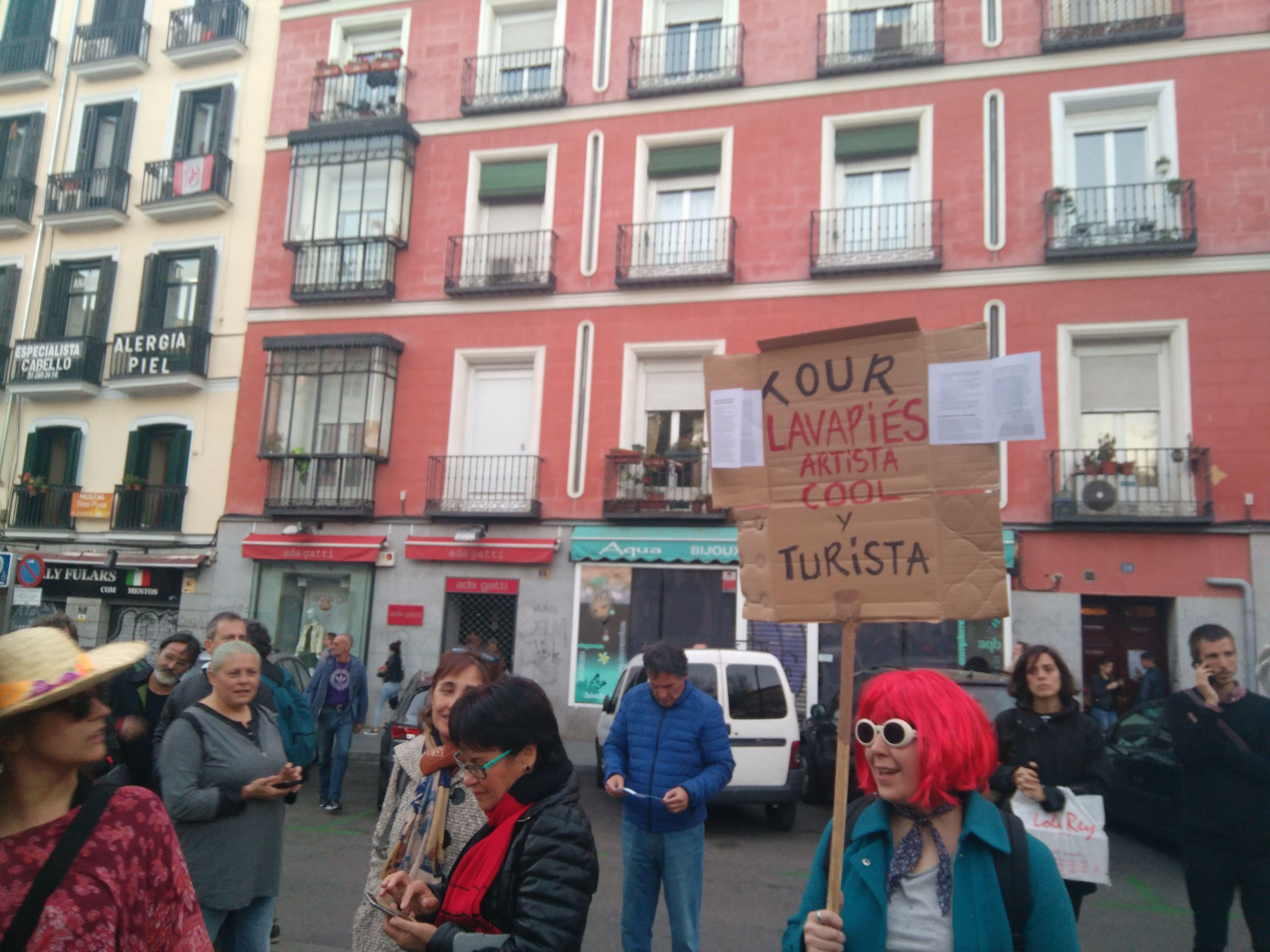 El barrio de Lavapiés, contra la gentrificación y el turismo de masas
