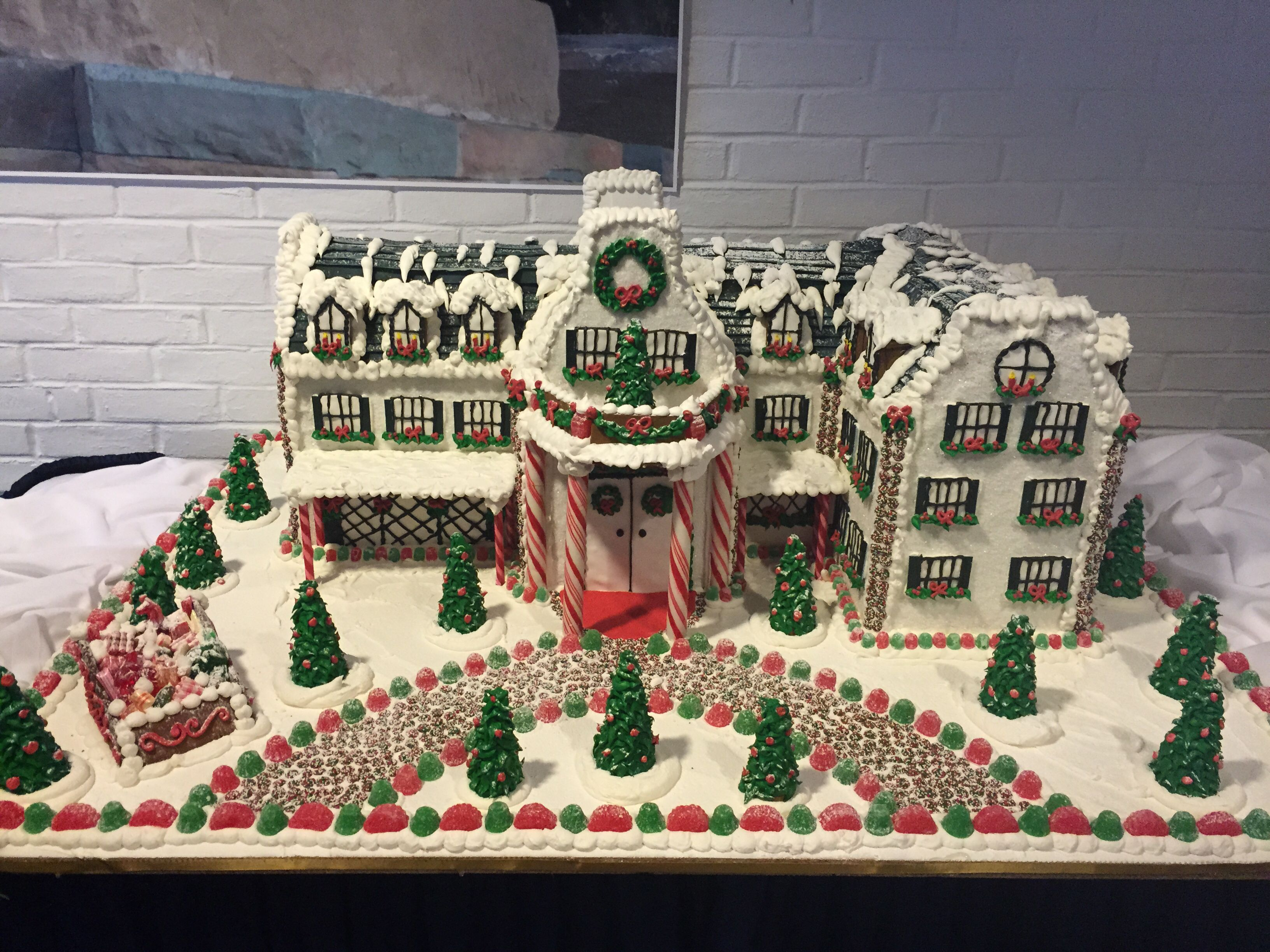 Gingerbread Replica Of The Nittany Lion Inn   PSU Love Part 72
