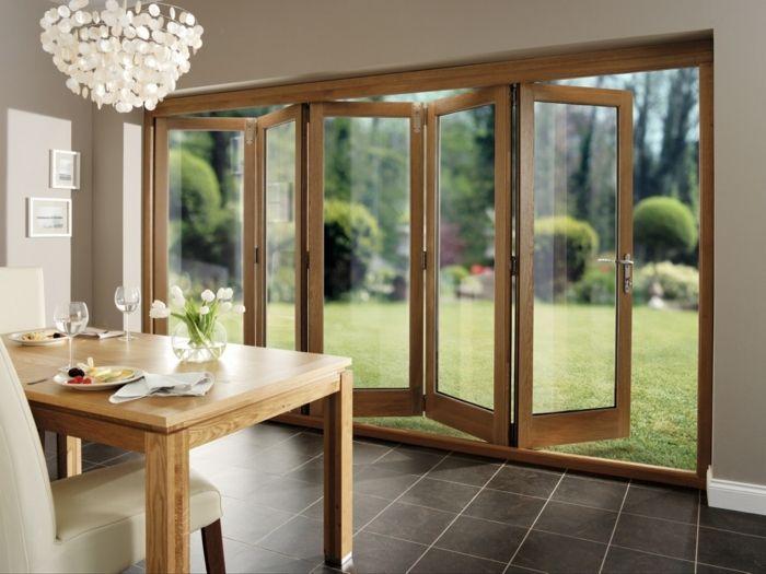 Les Portes Pliantes Design En 44 Photos Home Patio Doors