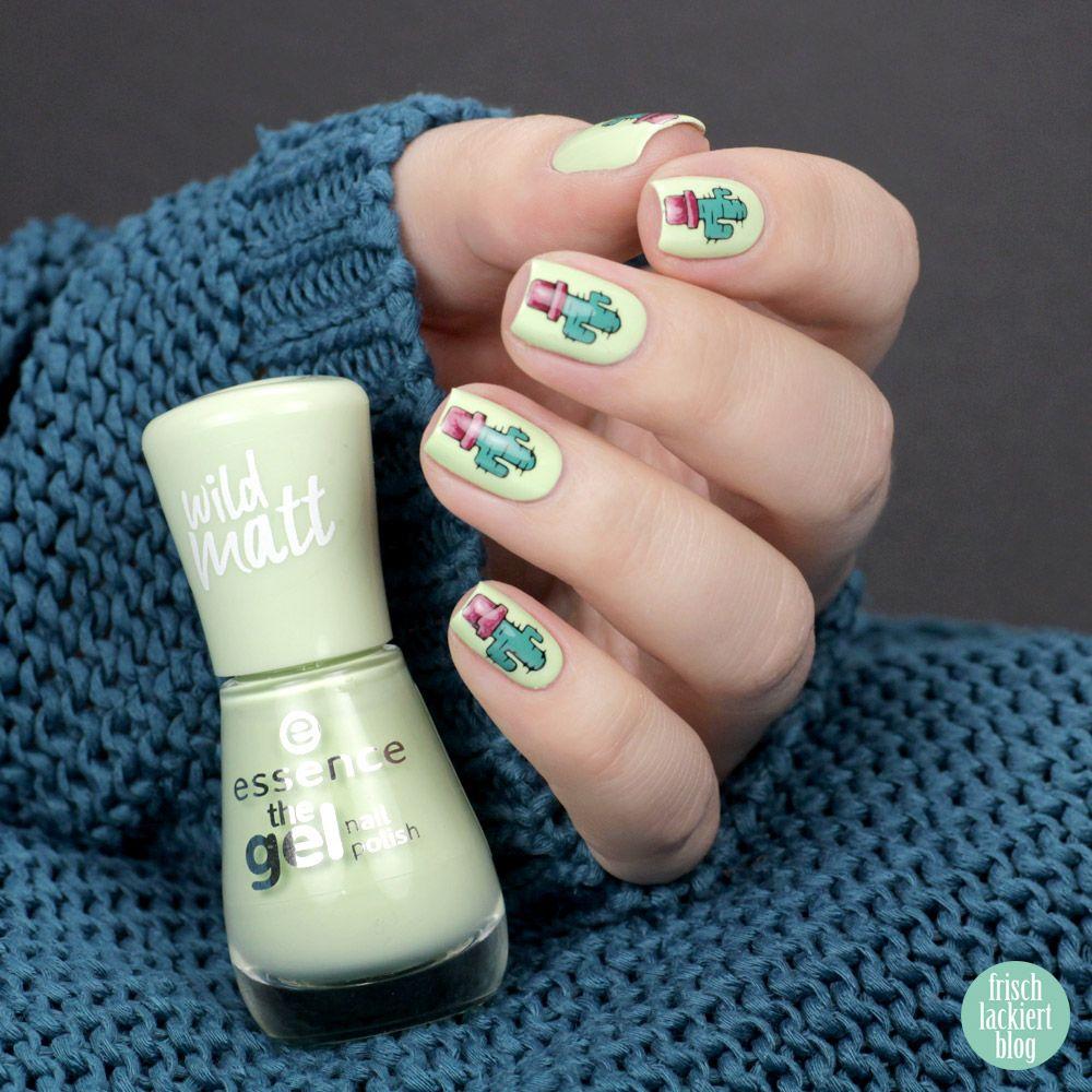 Essence Stamp It Clear Stamper – Stamping Nailart mit Kaktus – by ...