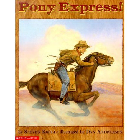 Take an adventurous ride with the first Pony Express in this unique tale told with rich historical detail and illustrated with dramatic o...