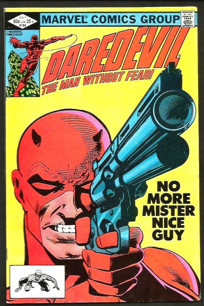 DAREDEVIL 184 Marvel Comics1982 FRANK MILLER Punisher