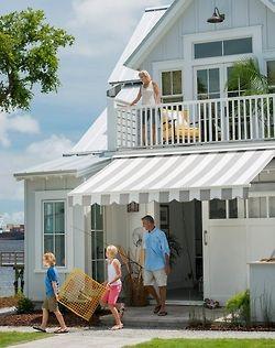 Sunbrella Brand Fabrics Sailrite Com Outdoor Awnings House Awnings Backyard