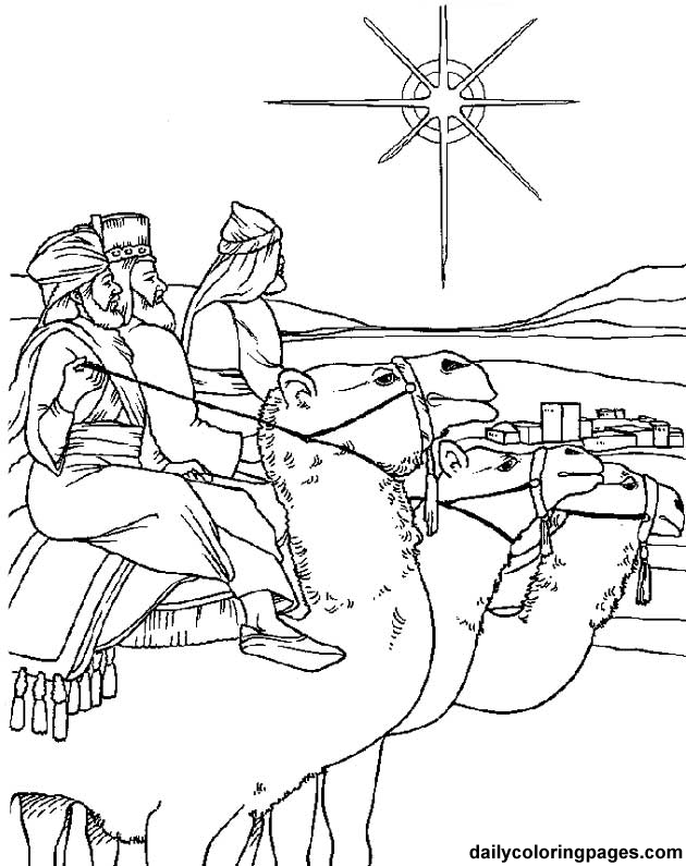 Three Wise Men Christmas Coloring Pages Christmas Coloring Pages Sunday School Coloring Pages Jesus Coloring Pages