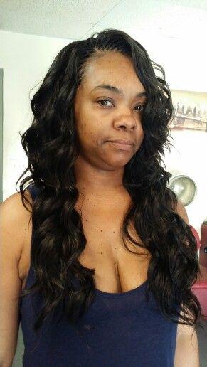 Tree Braids Interlock Using Freetress Cozy Deep Curl Hair Get Chicago S Best At Www Interlockstyl Pinterest