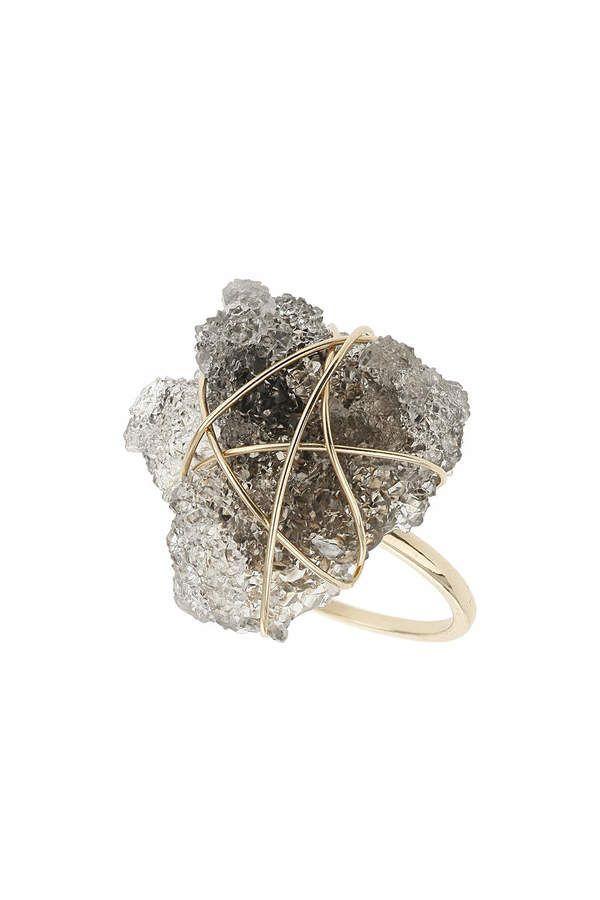 Crystal Quartz wrap ring #jewellery #ring