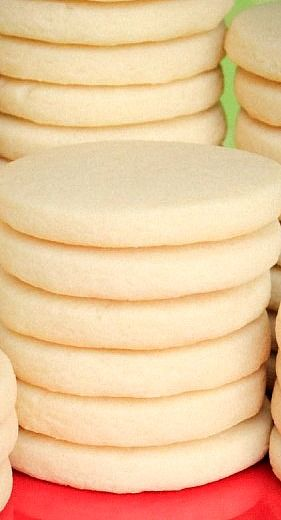 The Best Rolled Sugar Cookie Recipe Perfect Sugar Cookies Rolled Sugar Cookies Baking