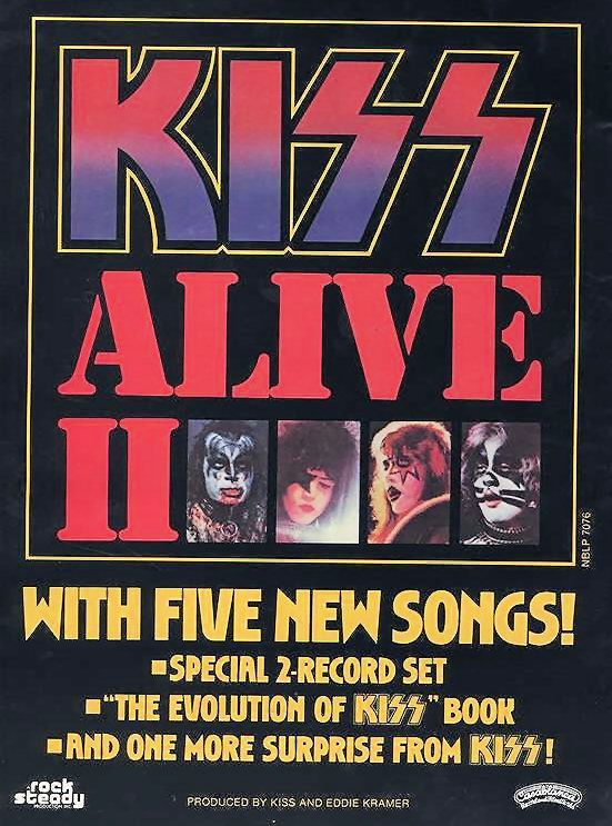 KISS Promotional Ad https://www.facebook.com/FromTheWaybackMachine