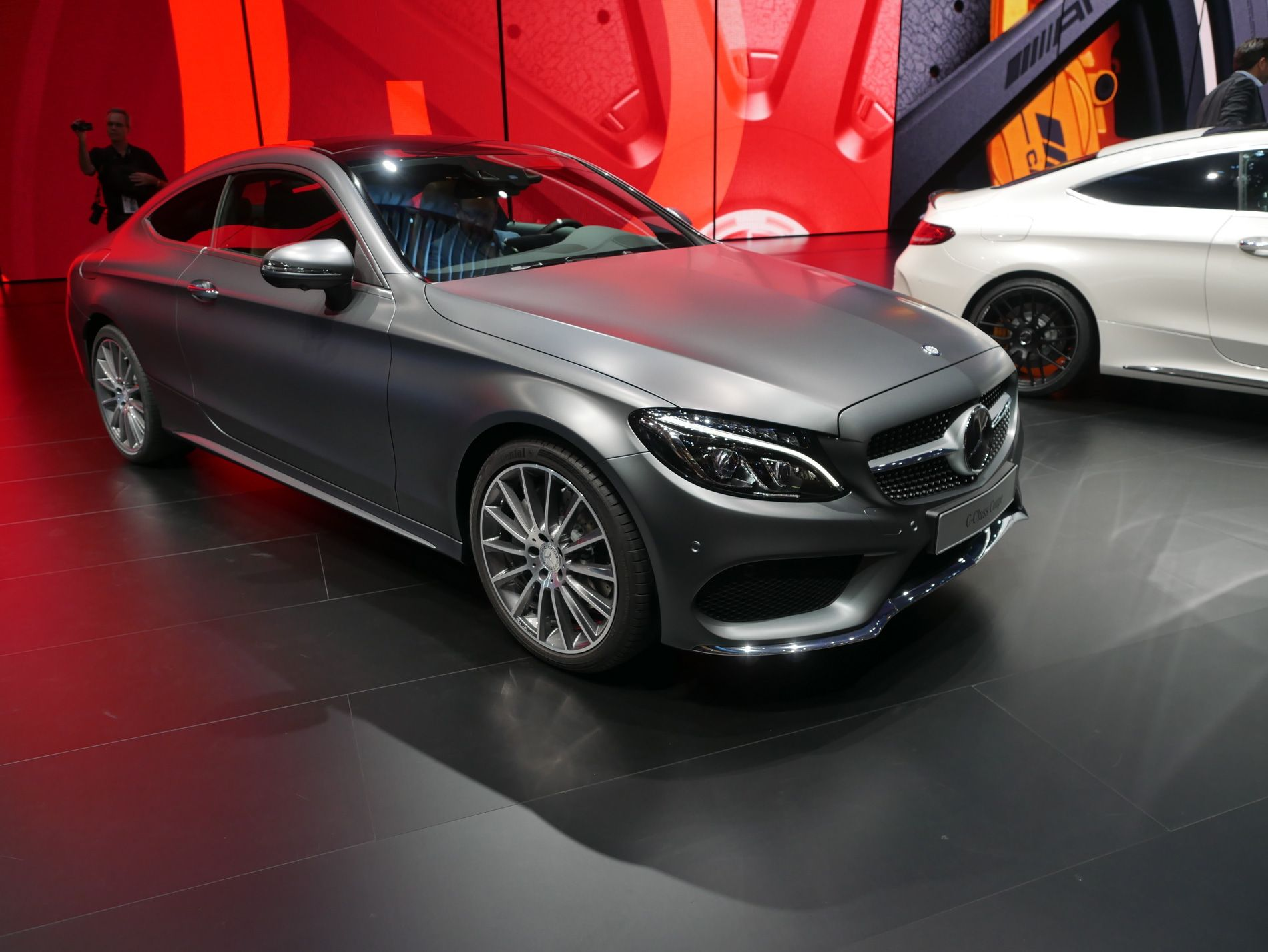 Image Result For Matte Grey Mercedes C Class Coupe With Images