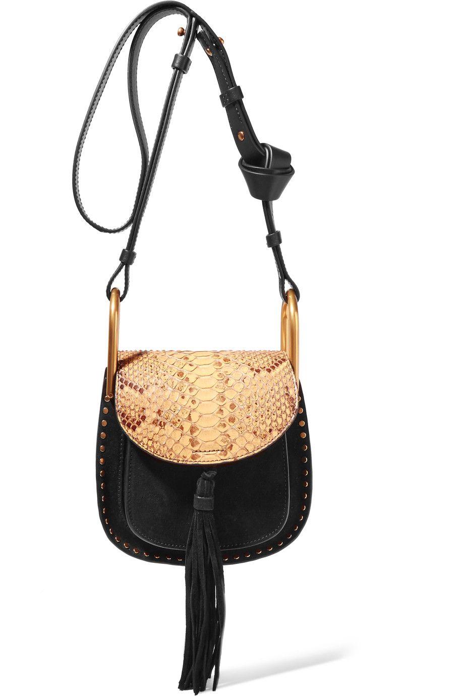 386fcbb6fced5 CHLOÉ . #chloé #bags #shoulder bags #suede #   Chloé   Bags, Leather ...