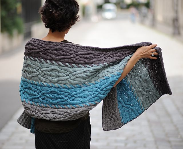 Ravelry: Rumors of Snow pattern by HandSoOn Knits