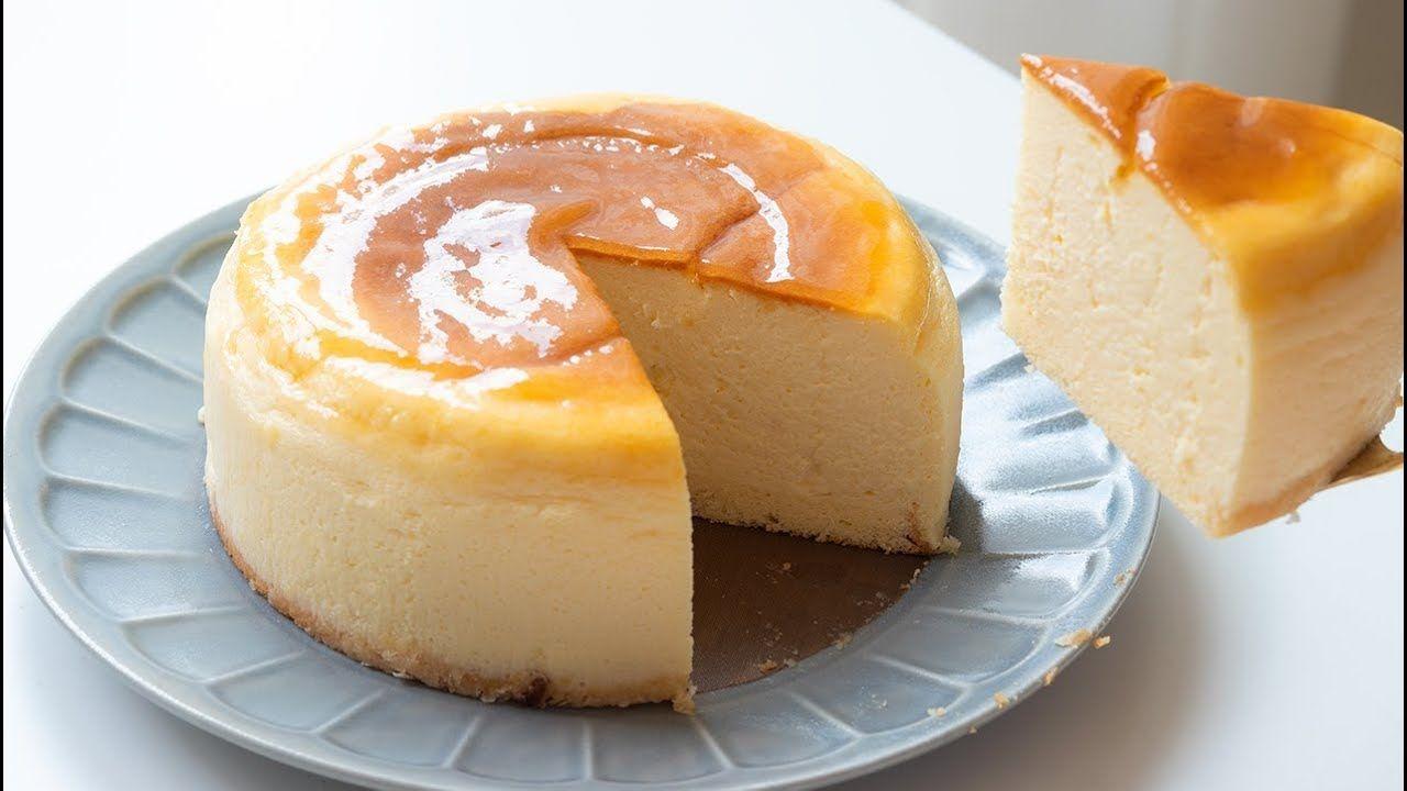 ケーキ レシピ チーズ スフレ