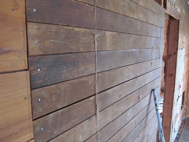 floor boards using as wall sheathing barn pinterest shiplap boards wood paneling and. Black Bedroom Furniture Sets. Home Design Ideas