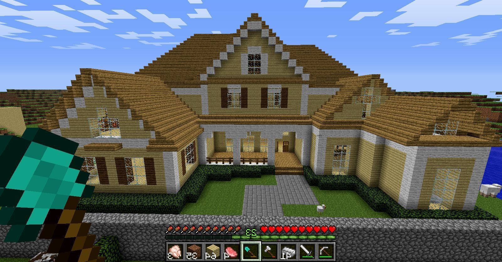 Image result for house ideas minecraft amazing houses designs also mcpe pinterest rh ar
