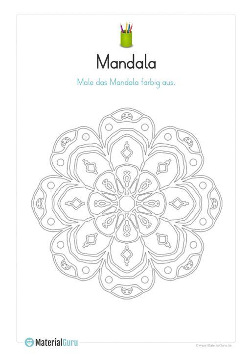 ausmalbild mandala 07  ausmalbilder mandala ausmalbilder