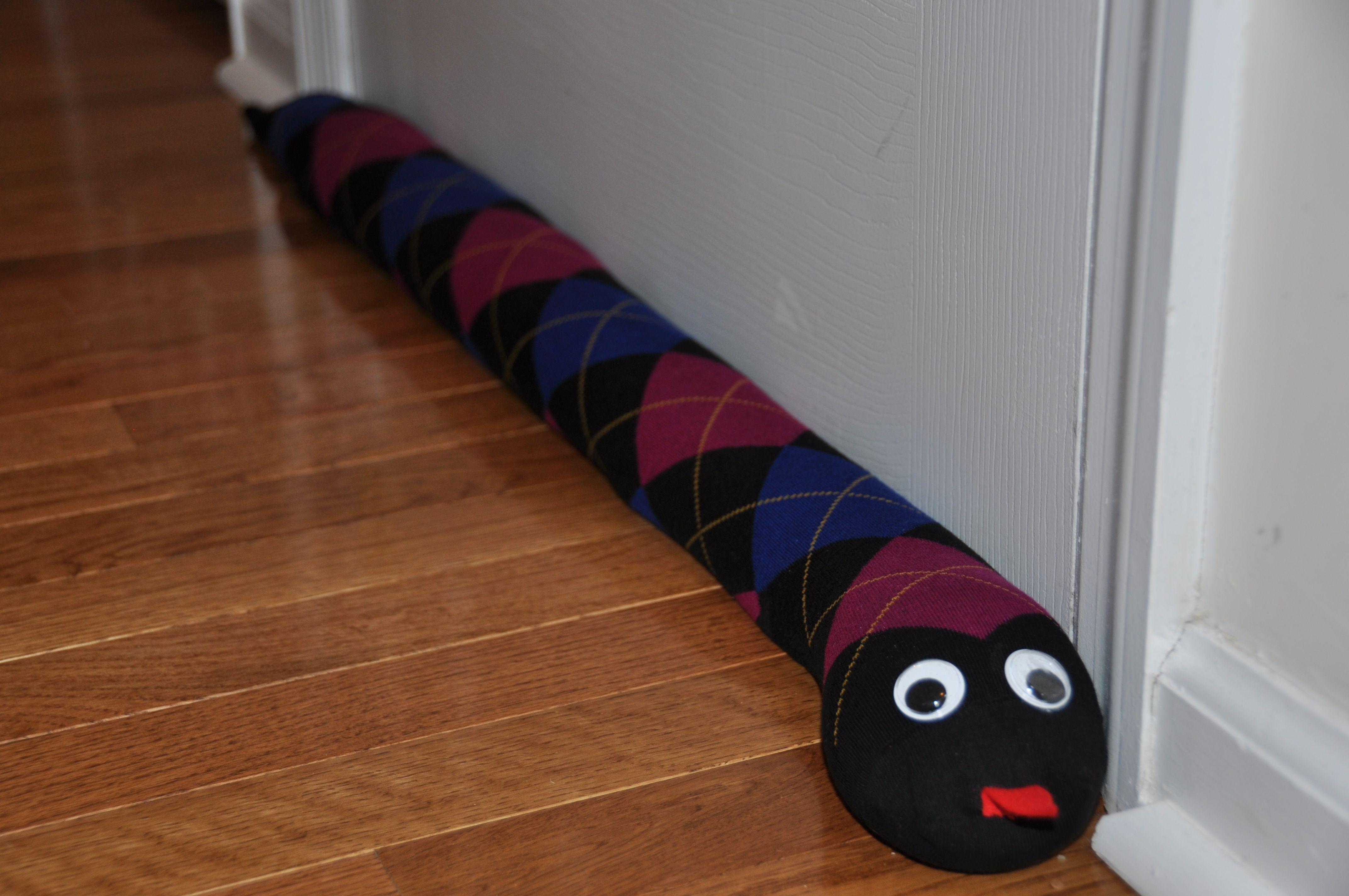 Door Draft stopper 2 & Homemade Gift: Door Draft Stopper | Draft stopper Door draft and ...
