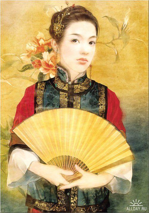 Портреты тайваньской художницы Der Jen