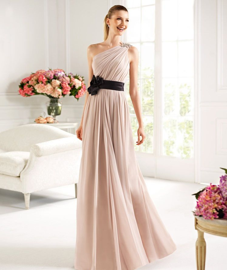 my gown for my friend's wedding was inspired by this... gown by pronovias