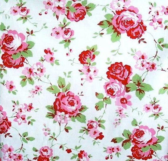 Ikea Cath Kidston Furnishing Fabric Rosali By