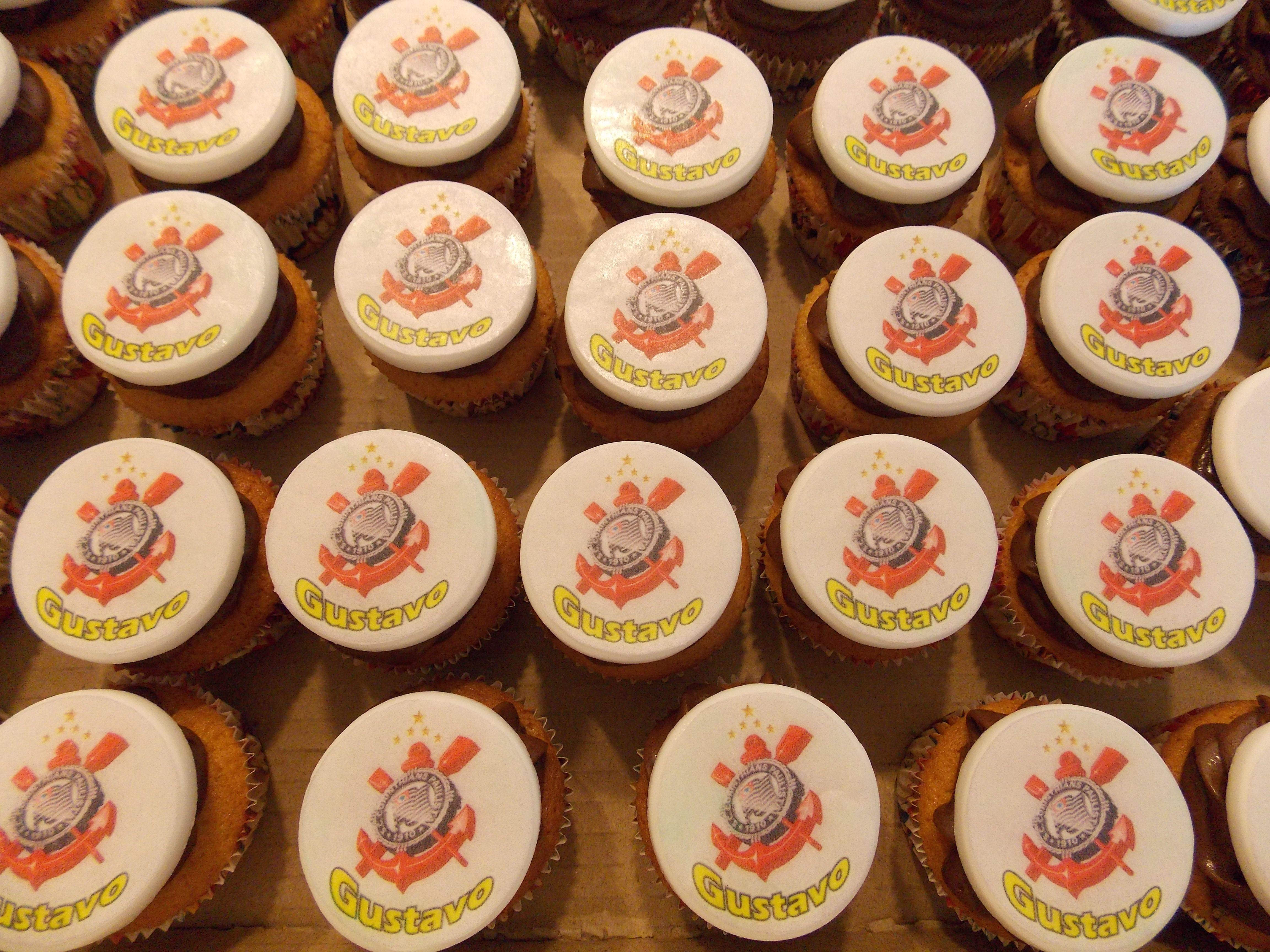 Mini cupcakes Corinthians