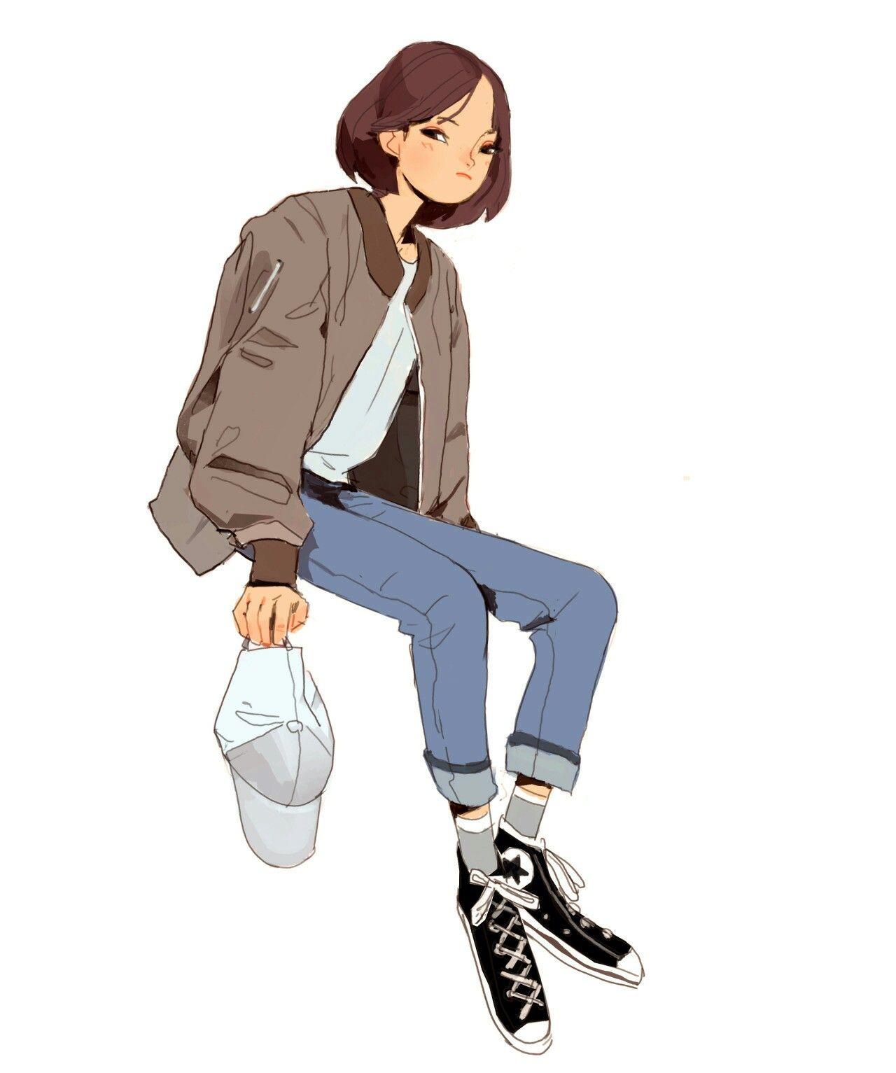 Bomber character design character design inspiration
