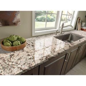 Stonemark Granite 3 In Granite Countertop Sample In Bianco