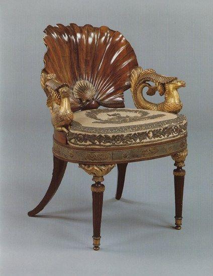 C1800 Venus Chair Probably German Circa 1800
