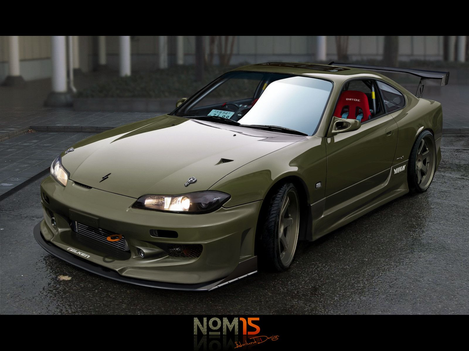 nissan silvia s i like that also baby you can drive  modified cars