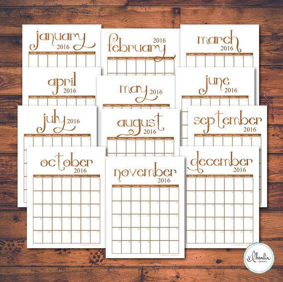 Online Monthly Calendar  And Printable  Holiday