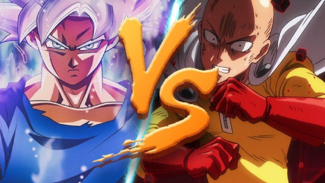 Goku Vs Saitama Quem Vence Duelo Mortal Dragon Ball Goku Goku Vs Saitama