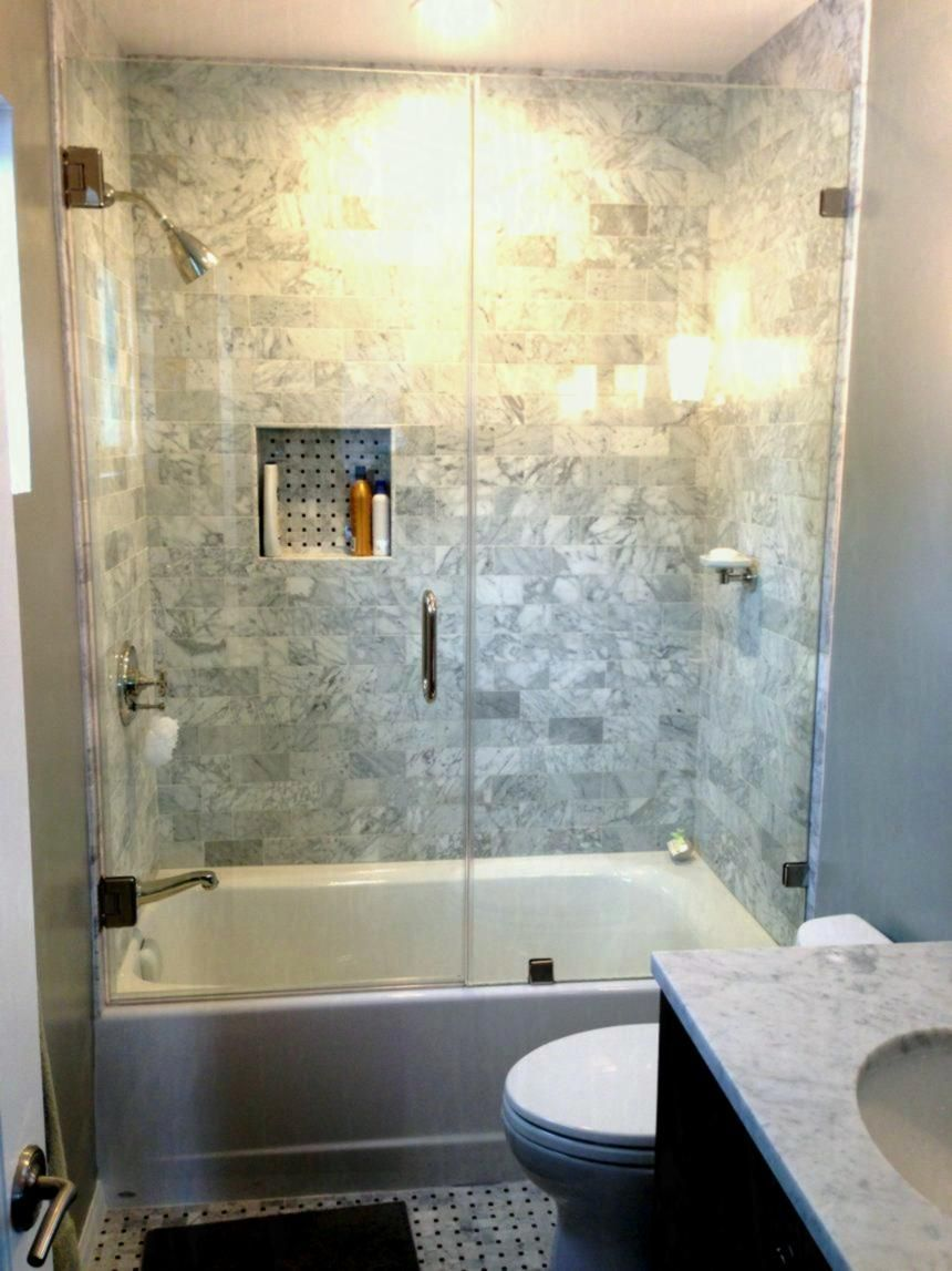 Small Bathroom Design Ideas On a Budget | Home Depot Bathtubs Small ...