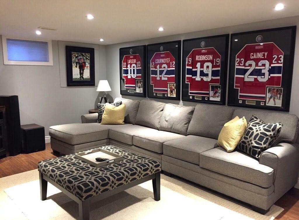 Hockey Jersey display Interior, Interior design, Design