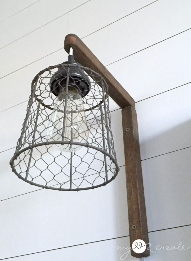 Diy Plug In Sconces From Pendant Lights Diy Wand Badezimmer