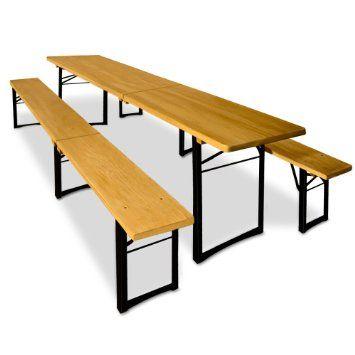 Enjoyable Wooden Trestle Table And Bench Set Folding Outdoor Dining Gamerscity Chair Design For Home Gamerscityorg