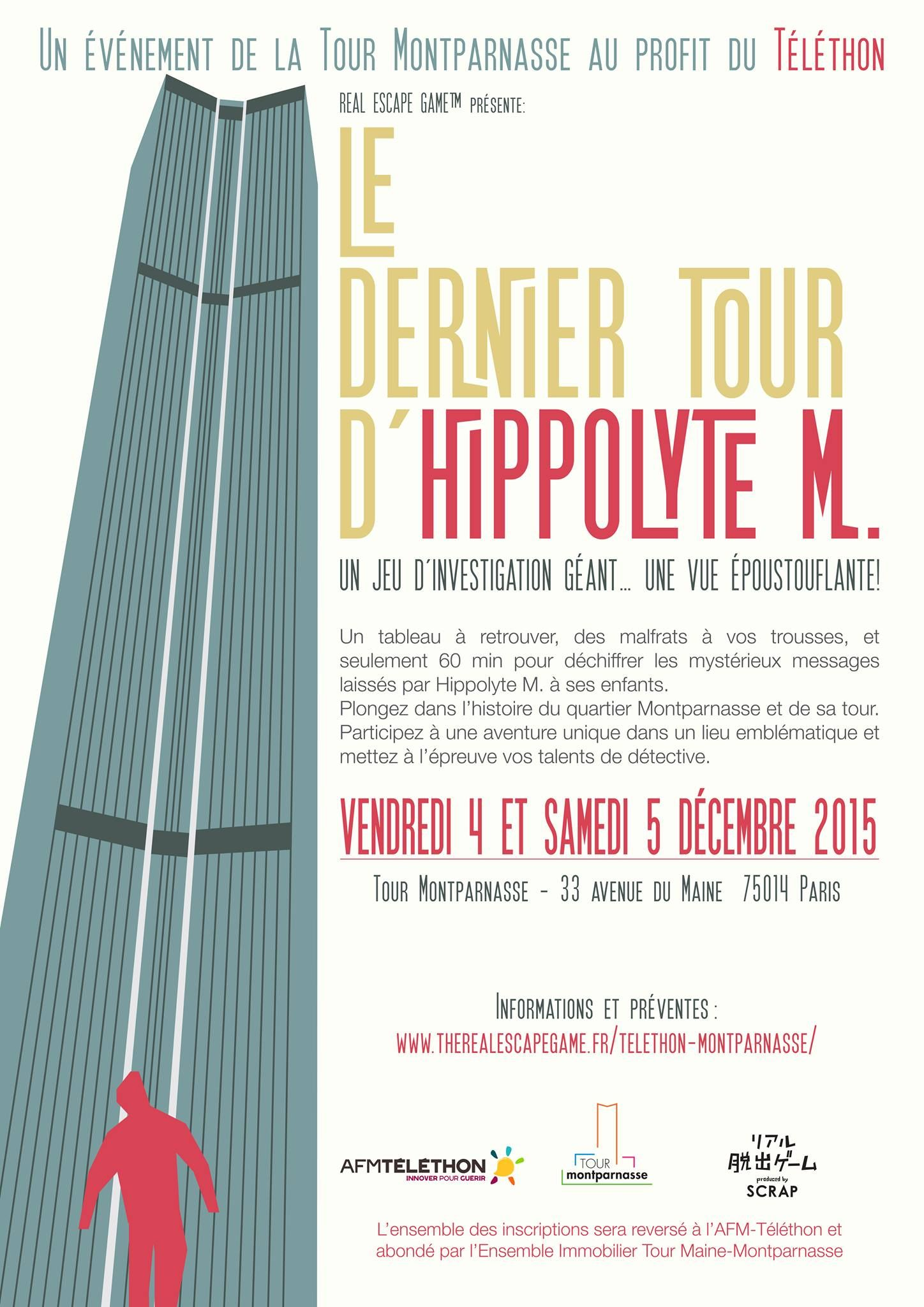 La Tour Montparnasse va proposer un Escape Game géant, au