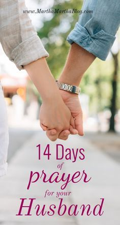 14 Days Of Prayer For Your Husband