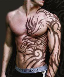 Tribal Tattoo Across Chest Celtic Tribal Tattoos Tribal Tattoo Designs Picture Tattoos