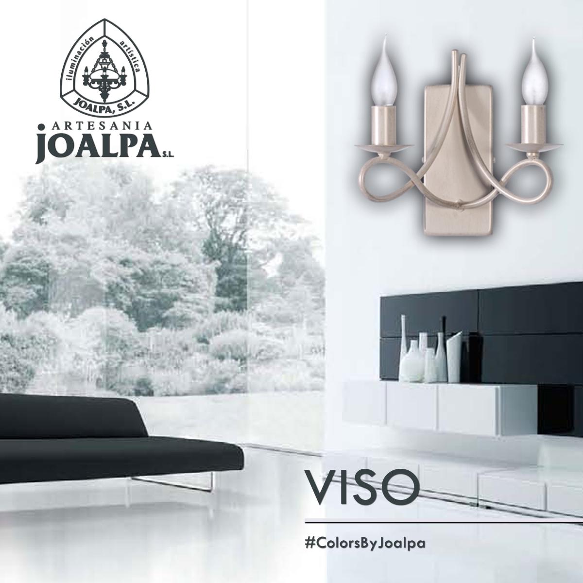 Aplique de pared VISO, elegancia discreta bajo la magia de la luz de #ArtesaniaJoalpaSL #ColorsByJoalpa