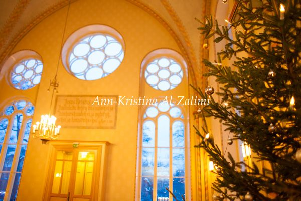 Ann-Kristina Al-Zalimi, joulu, joulukirkko, christmas, christmas church, diakonissalaitoksen kirkko, diakonissalaitos, jul, christmas tree, joulukuusi